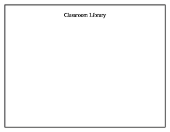 Classroom Library Table Document
