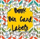 Classroom Library Tub Labels