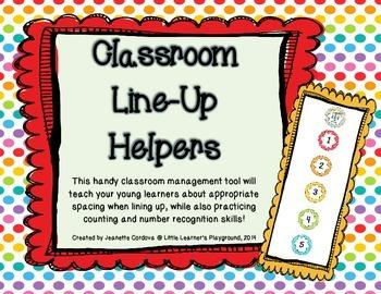 Classroom Line Up Helpers
