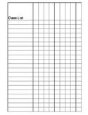 Classroom List