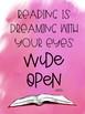 Classroom Literacy Poster FREEBIE!