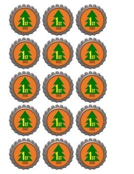 Classroom Logo Bottlecap Pins