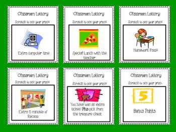 Classroom Lottery