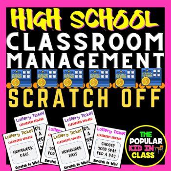 Classroom Lottery Ticket Scratch-Off Reward