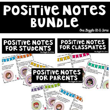 Classroom Love Notes Bundle