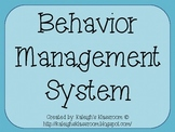 Classroom Magnetic Behavior Management System
