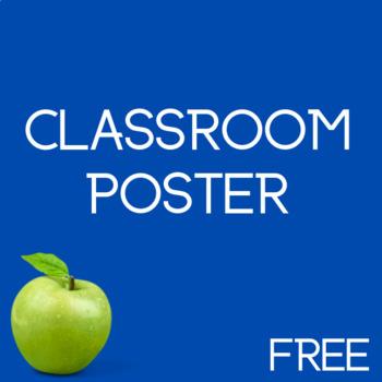 Classroom Management Poster