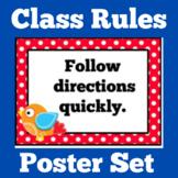 Classroom Rules   Kindergarten 1st 2nd 3rd Grade   Class Rules Posters