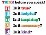 Classroom Poster | Kindness | Behavior Management | 1st 2n