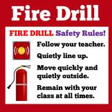 Fire Drill   Preschool Kindergarten 1st 2nd 3rd Grade   Fi