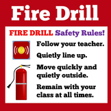 Fire Drill Procedures Worksheet
