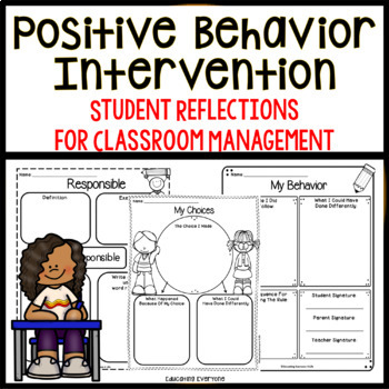 Classroom Management {Think Sheets}