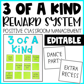 Classroom Management- A Whole Class Reward EDITABLE