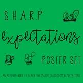 Classroom Management Acronym Poster Set
