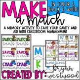 Classroom Management Aid Make a Match