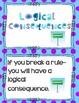 Classroom Management Anchor Chart Card Bundle