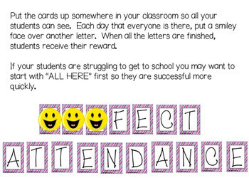 Student Attendance Incentive