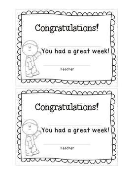 Classroom Management Awards