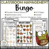 Classroom Management Bingo Fall Edition   Game   Plan
