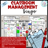 Classroom Management Bingo Back to School Edition | Game | Plan