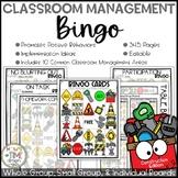 Classroom Management Bingo Construction Edition | Game | Plan