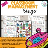 Classroom Management Bingo End of Year Summer Edition | Game | Plan