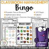 Classroom Management Bingo Halloween Edition | Game | Plan