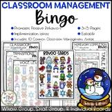 Classroom Management Bingo Winter Edition | Game | Plan