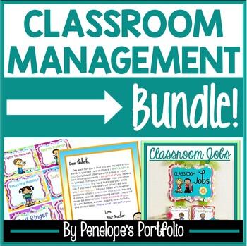 Classroom Management Behavioral System:  Classroom Management BUNDLE