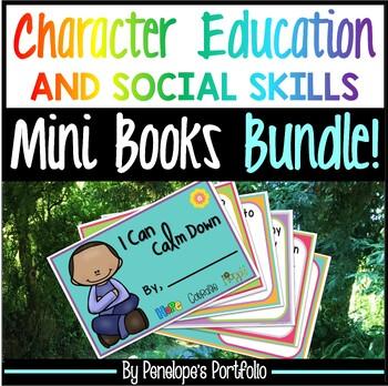 Social Skills BUNDLE / Character Education BUNDLE - Mini Books