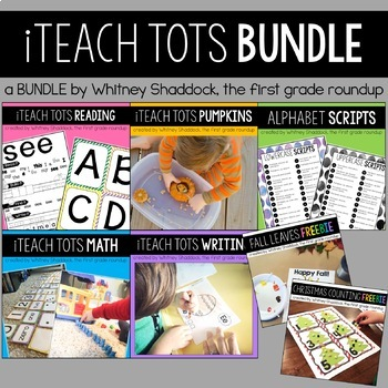 Homeschool Preschool BUNDLE DISTANCE LEARNING