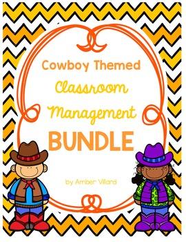 Classroom Management BUNDLE {Cowboy}