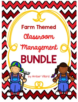 Classroom Management BUNDLE {Farm}
