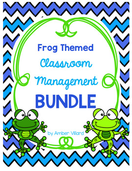 Classroom Management BUNDLE {Frog}