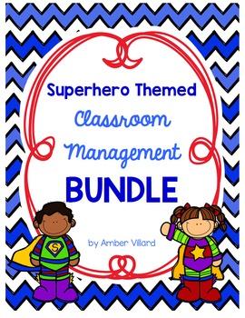 Classroom Management BUNDLE {Superhero}