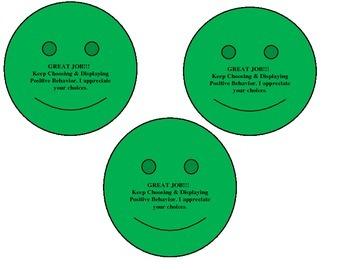 Classroom Management Bahavior Cards