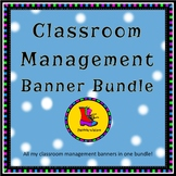 Classroom Management Banner Bundle