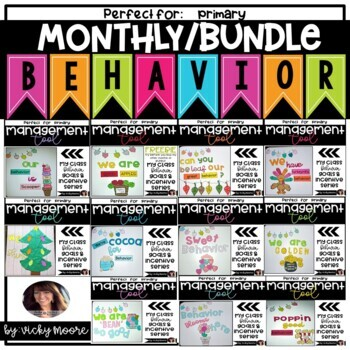 Classroom Management Behavior Bites ~ BUNDLED