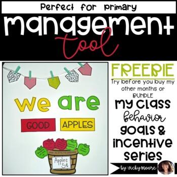 Classroom Management Behavior Bites ~ September Freebie