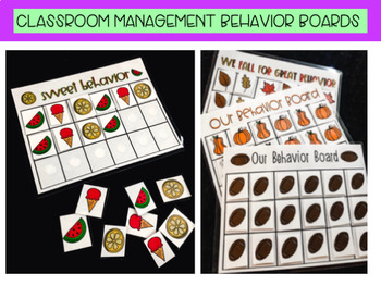Classroom Management Behavior Board