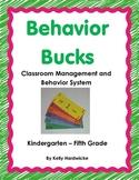 Classroom Money- Behavior Bucks Management System