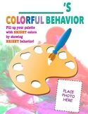 Classroom Management Behavior Chart