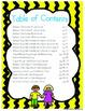 Classroom Management: Behavior Clip Chart, Behavior Logs,