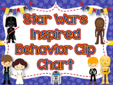 Behavior Clip Chart; Star Wars Inspired Theme-Classroom Management