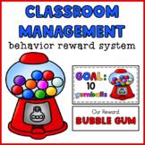 Classroom Management Behavior Reward System   Gumball Machine