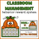 Classroom Management Behavior Reward System   Pumpkin Ten Frame