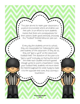 Classroom Management / Behavior Plan