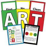 Classroom Management Behavior System Resource Elementary Art - Three Strikes