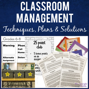 Classroom Management Behavior Systems BUNDLE