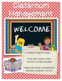 Classroom Management - Behavior and Classroom Library Organization